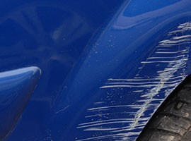 Paintwork scratches repair